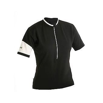 Altura Womens classico manica corta maglia nera