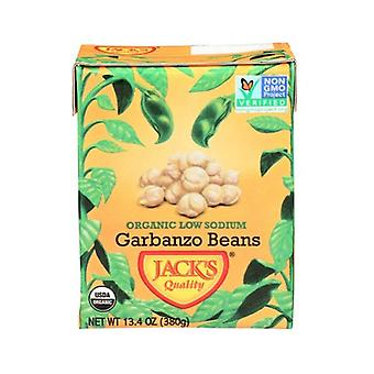 Jack's Quality Organic Low Sodium Garbanzo Beans