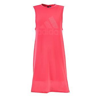 Damska&s adidas Sports ID Sukienka w kolorze różowym