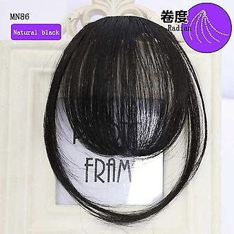 6inch 4color Clip In Hair Bangs Hairpiece Accessories - Synthetic Fake Bangs Clip