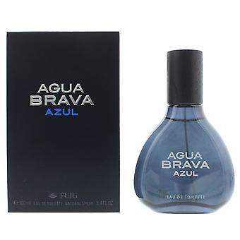 Antonio Puig Agua Brava Azul Eau de Toilette 100ml Spray For Him