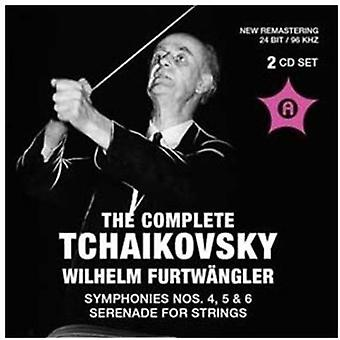 P.I. Tchaikovsky - The Complete Tchaikovsky: Symphonies Nos. 4, 5 & 6; Serenade for Strings [CD] USA import