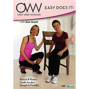 Older Wiser Workouts: Easy Does It [DVD] USA import