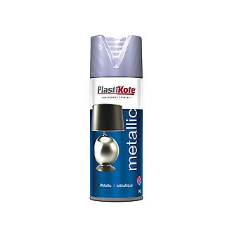 Plasti-kote Metallic Spray Silver 400ml PKT621