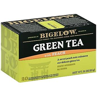 ביגלו תה ירוק עם אפרסק