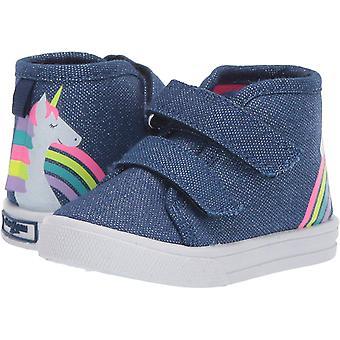 OshKosh B'Gosh Kids Mane Girl's Playful Canvas High-top Sneaker