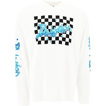 Babylon La F101062wht Men's White Cotton Sweater