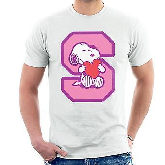 Jordnötter Snobben S Krama Love Heart Men's T-shirt