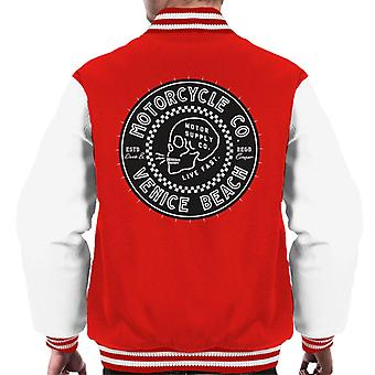Divide & Conquer Venice Beach Motorcycle Co Men's Varsity Jacket