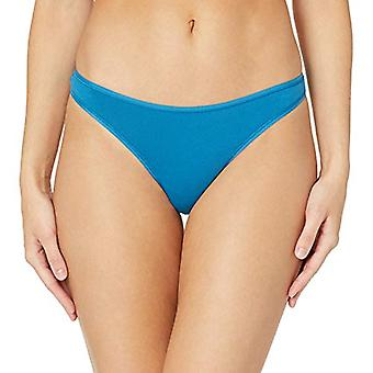 Essentials Femmes-apos;s 6-Pack Cotton Stretch Thong Panty, Pretty Pops, M