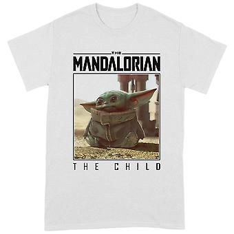 Star Wars Mandalorian The Child Frame Official Tee T-Shirt Unisex