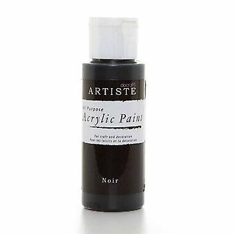 Hantverk AkrylFärg (2oz) - Noir (DOA 763259)