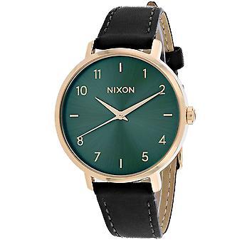 150, Nixon Women 's A1091-2805 Quartz Black Watch