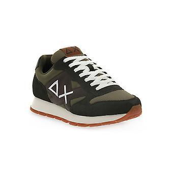 Sun68 19 jaki solid bicolor sneakers fashion