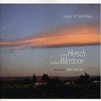 Hersch/Winstone - låtar & vaggvisor [CD] USA import