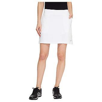 NIKE Women's Dry Golf Skort, White/Flat Silver,, White/Flat Silver, Size Medium