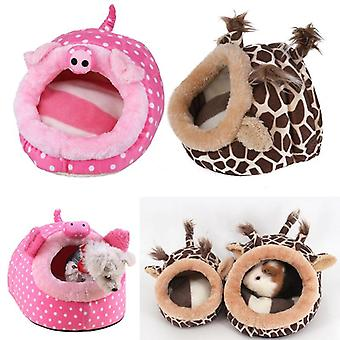 Cute Small Animals Pet Cage/nest - Guinea Pig, House Chinchillas, Squirrel Bed