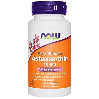 Nå Matvarer, Astaxanthin, 10 mg, 60 Myke geleer