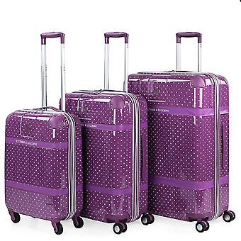 Set of 3 Trolleys in Victorio Polycarbonate and Lucchino 80105