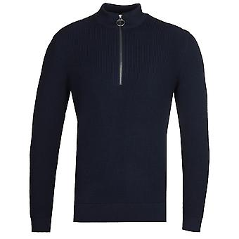 Barbour x Norse Projects Quarter Zip Navy Sweatshirt