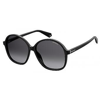 Sonnenbrille Damen  6094/S807/WJ   rund schwarz/grau