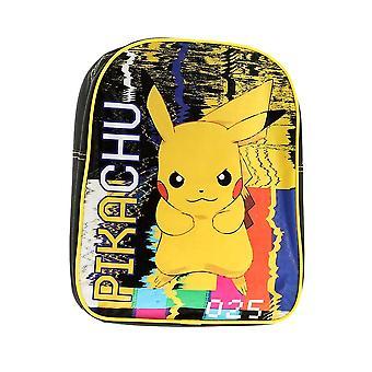 Mochila de personagens Pokemon Pikachu para crianças