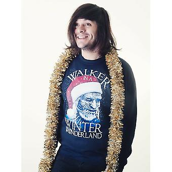 Grindstore Mens Walker In A Winter Wonderland Christmas Jumper