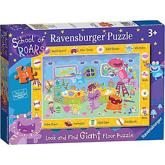 Ravensburger School of Roars Giant Floor Puzzle 24pc