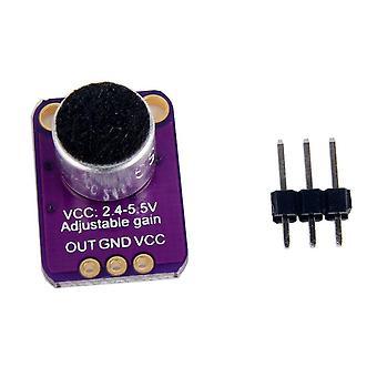 Sähköinen mikrofonivahvistin anturi säädettävällä vahvistulla