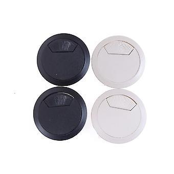 2sztuk/zestaw wytrzymałej okrągłej pokrywy otworu kablowego