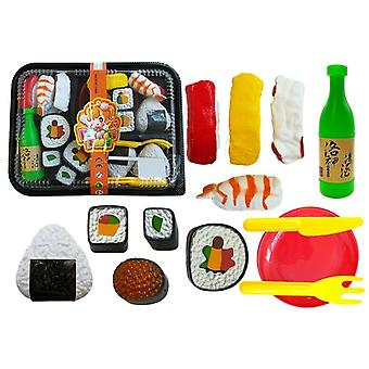 Toy Sushi set with cutlery - 19-piece - for children's kitchens