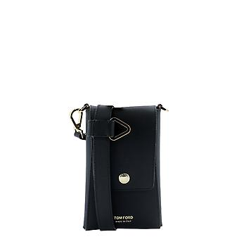 Tom Ford Y0302tlcl081u9000 Men's Black Leather Cover