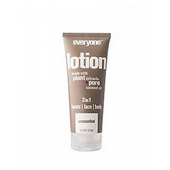 EO Products 3-in-1 Lotion, Unscented 6 Oz