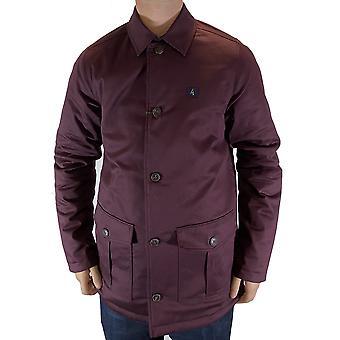 Chameleon Navy & Burgundy Reversible Coat