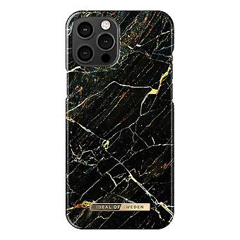 iDeal Of Sweden iPhone 12 Pro Max Shell - Port Laurent Marble