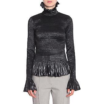 Mm6 Maison Margiela S52nc0122s48942900 Women's Black Polyester Sweater