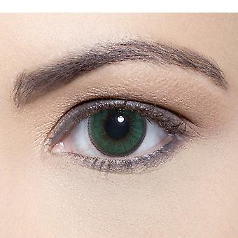 Solotica Soflex - Natural Coloured Contact Lenses - Verde (0.00d) (1 Month)