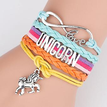 Unicornes Bracelets, Fashion Rainbow Girl Makeup Toys- Kids Christmas