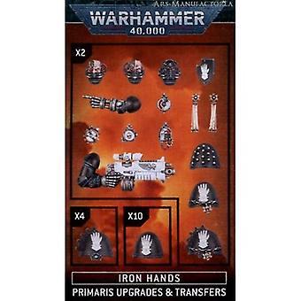 warhammer 40K - Iron Hands Primaris Upgrades und Transfers