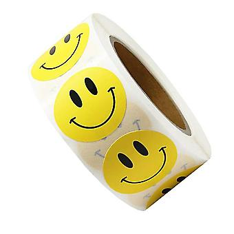 Smiley Face Sticker -autocollant récompense -enfants