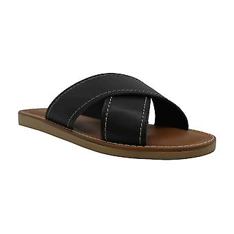 Easy Street Womens Evalina Open Toe Casual Slide Sandals