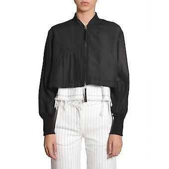 Alexander Wang.t 403513s17001 Women's Black Nylon Outerwear Jacket