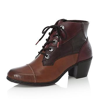 ريكر Y2133-24 فيكي أزياء الصوف اصطف الأحذية في براون