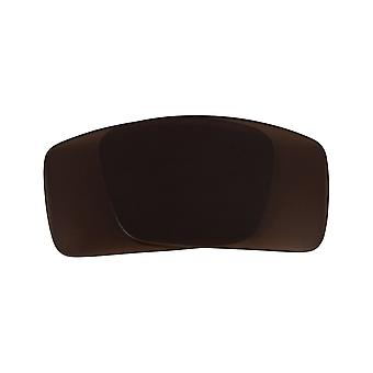 Polarized Replacement Lenses for Oakley Gascan S Sunglasses Anti-Scratch Brown