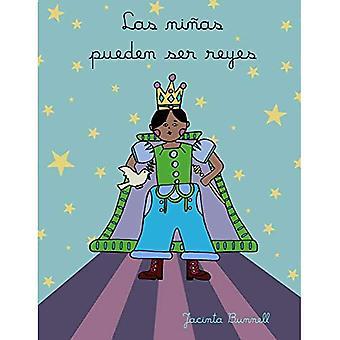Las Ninas Pueden Ser Reyes: Libro Para Colorear (Reach and Teach)