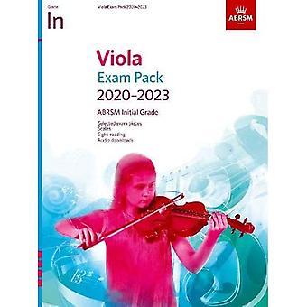Viola Exam Pack 2020-2023, Note initiale: Score & Part, avec audio (ABRSM Exam Pieces)