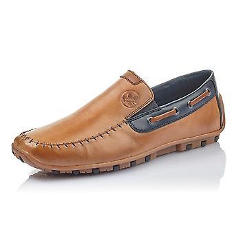 ريكر 08970-25 غاريت مينس الذكية عارضة زلة على الأحذية في براون