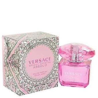 Kirkas Crystal absolu by Versace Eau de Parfum Spray 3 oz (naiset) V728-513122