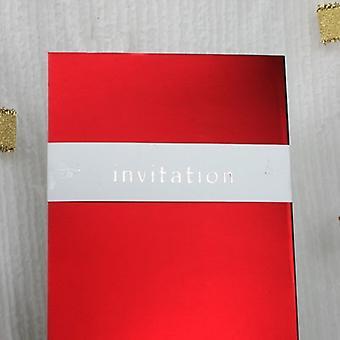 INVITATION' Décoration d'enveloppement de carte