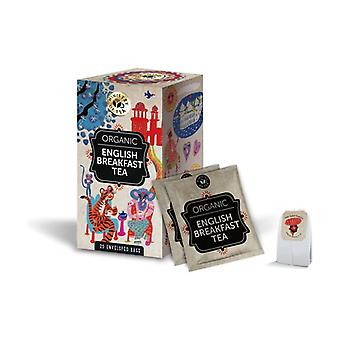 Organic English Breakfast Tea 20 individually packaged filters